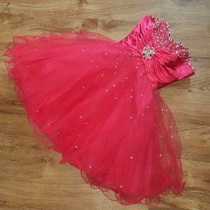 Red Prom Dress👑